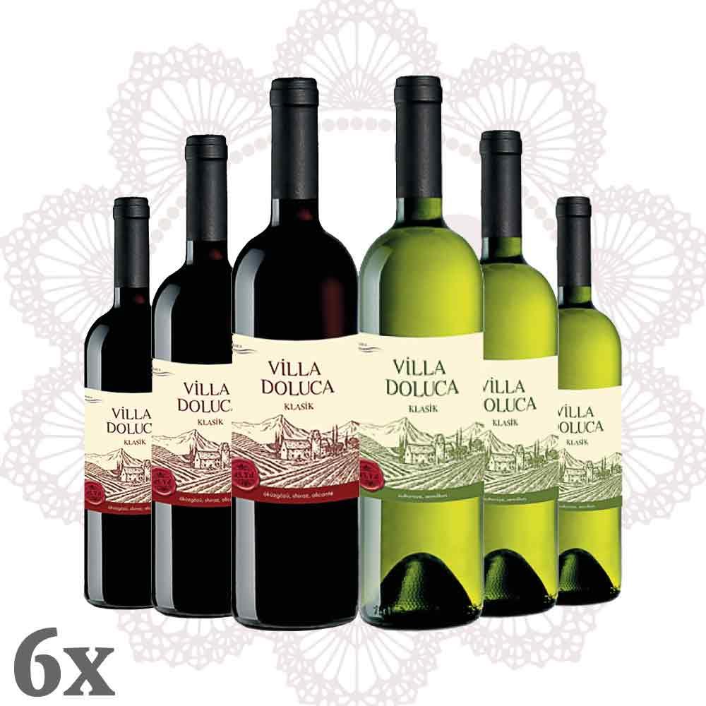 Villa Doluca - Legend Rot-Weiß 6er-Pack