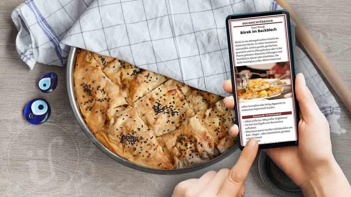 Umsonst: 10 türkische Rezepte schnell auf dein Smartphone