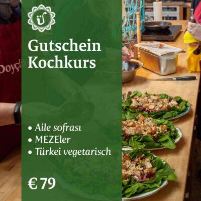 Gutschein Kochkurs Aile, Meze oder vegetarisch