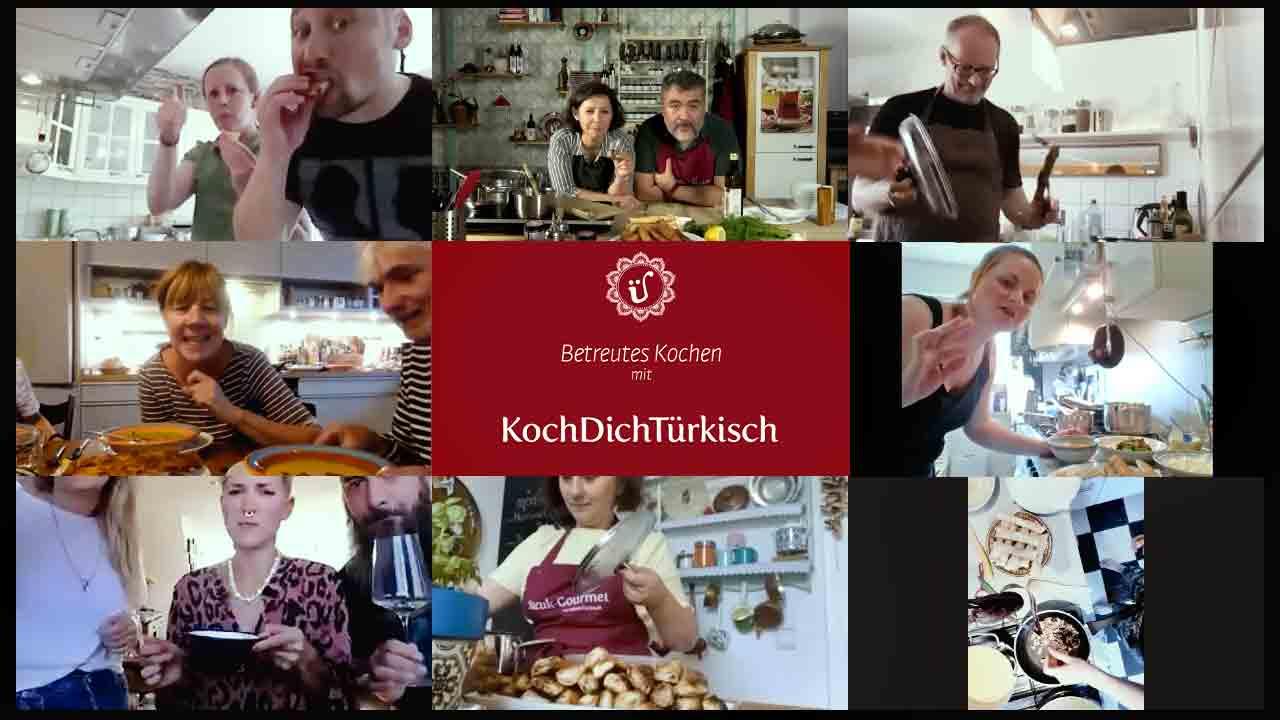 Online Kochkurs, türkische Online Kochkurse, Online-Kochkurs, Livestream, Kochkurs, Digitaler, virtueller, virtuell, live, Cooking classes, interaktion, KochDichTürkisch, türkischer Kochkurs, Live, digital, online, Meze, türkisches Abendessen