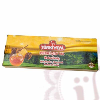 Wabenhonig - türkischer Honig am Stück - Blütenhonig mit Bienenwabe (auf Türkisch petekli çıcek bal)