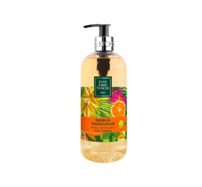 EYÜP SABRI TUNCER ~ Flüssigseife Mandarine 500ml ~ Doğal Bodrum Mandalinası Sıvı Sabun