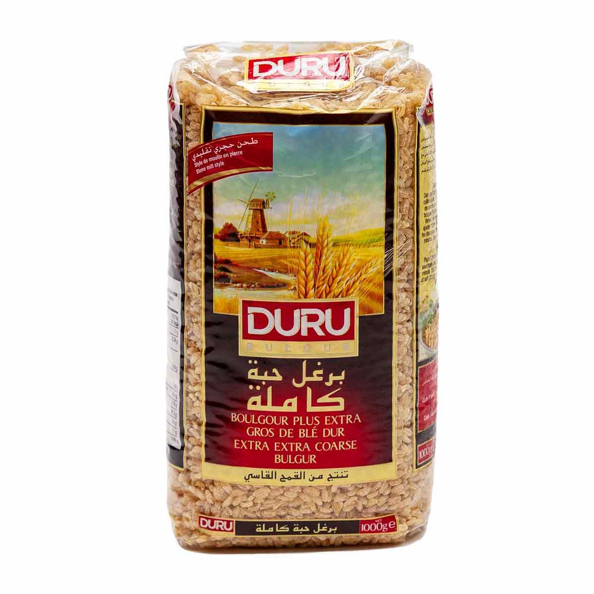 DURU Bulgur - Couscous - Koskosi 1000 g