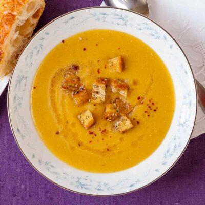 Zutaten & Rezept Türkische Linsensuppe, türkische, Suppe, Suppen, Rote Linsensuppe, aromatisch, lecker, einfach, gesund,