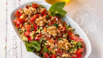 Gavurdağı salatası ~ Löffel-Salat ~ Rezept