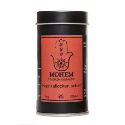 MOHEM ~ Paprikaflocken scharf