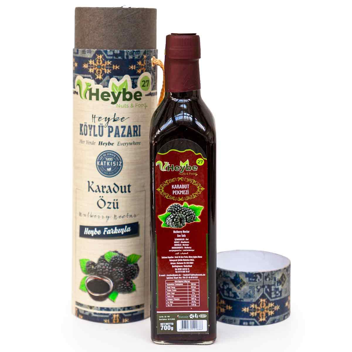 Heybe - schwarze Maulbeere Extrakt - karadut özü