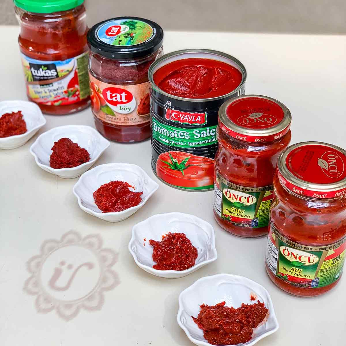 Salça ~ Tomatenmark und Paprikamark im Vergleichstest