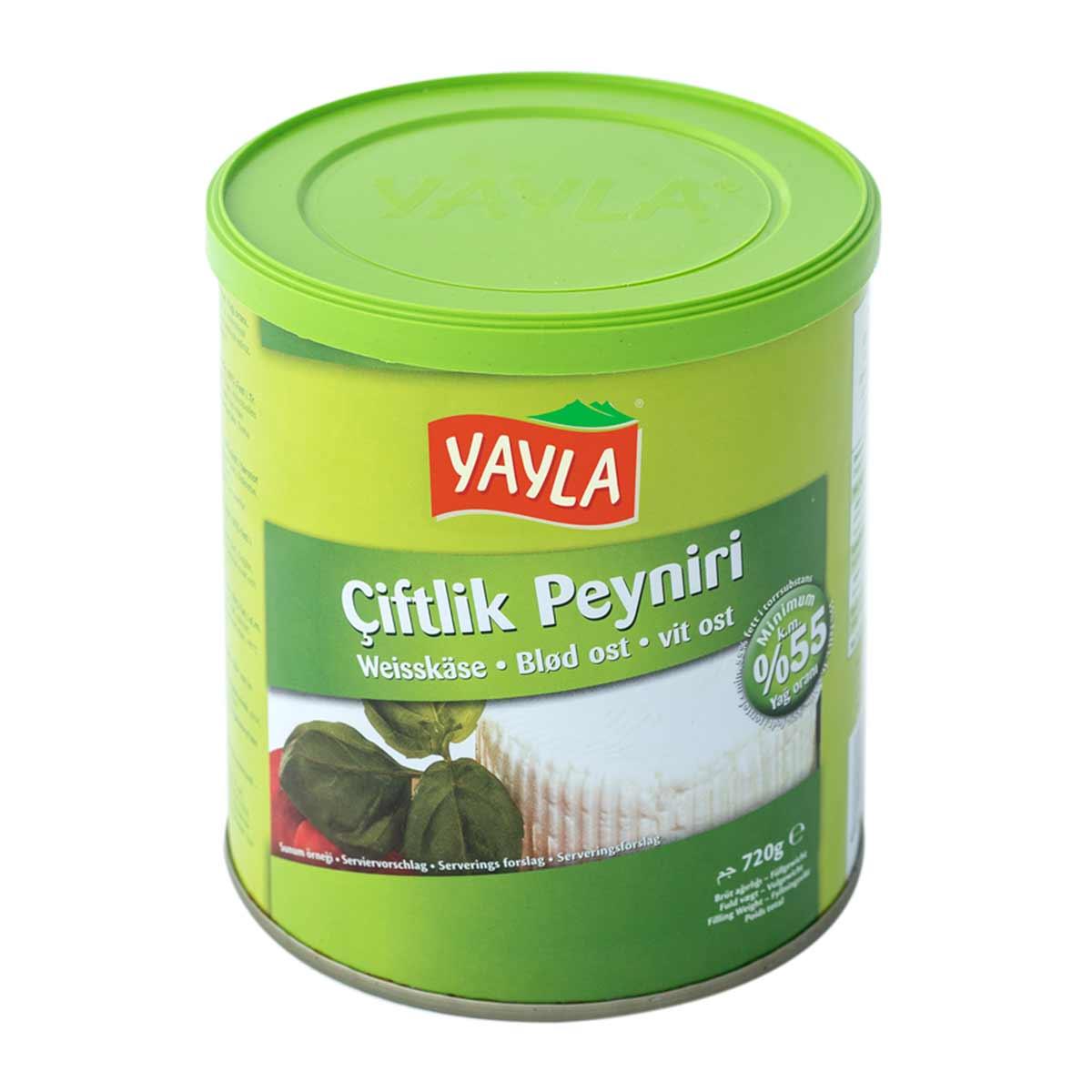 Weißkäse 55 % - beyaz peynir - Çiftlik Peyniri von Yayla