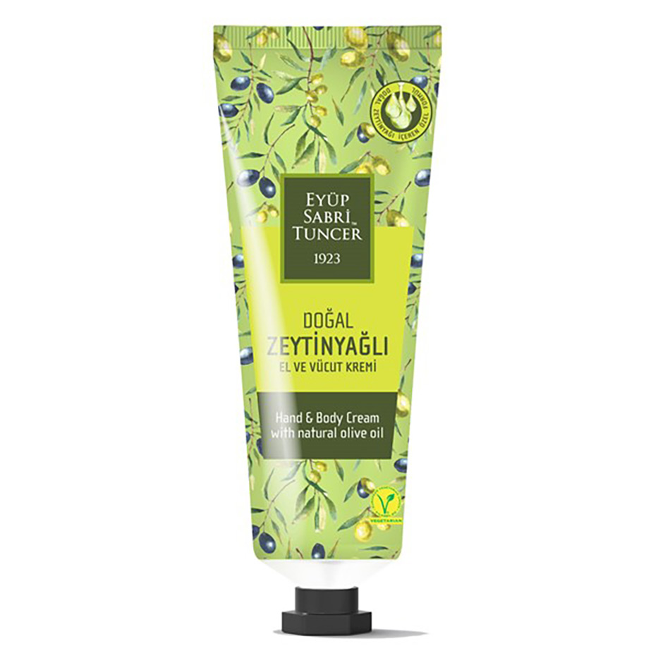 Oliven Handcreme 50 ml ~Doğal Zeytinyağlı El ve Vücut Kremi