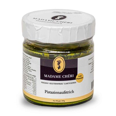 MADAME CHÊRI ~ Pistazienaufstrich (83% Pistazien) Pistazien Créme