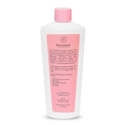 rosamour rosenwasser guelsuyu 250ml flasche rueckseite