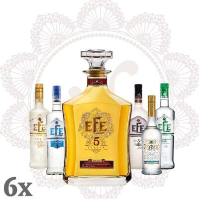 EFE 5 Rakı & 5 Mini Efe's ~ Sparpaket