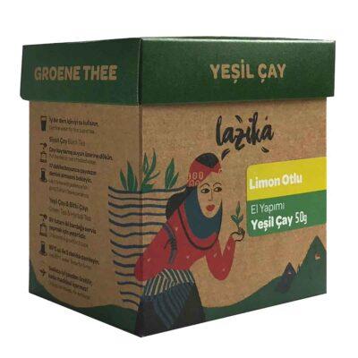 Lazika çay - Aromatisierter grüner Tee mit Zitronengras - yeşil çay