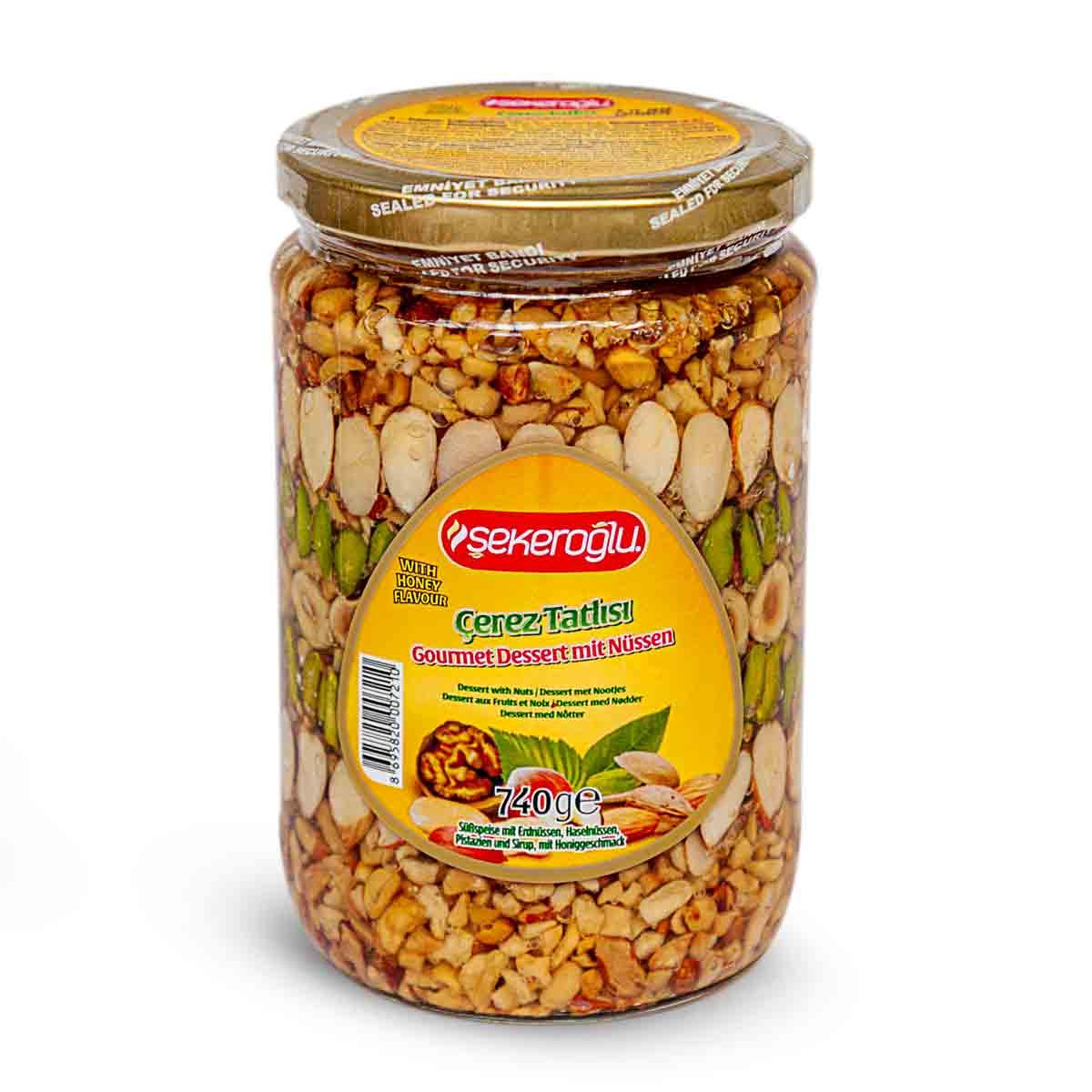 Şekeroğlu - Nuss-Pistazien-Brotaufstrich - çerez tatlısı