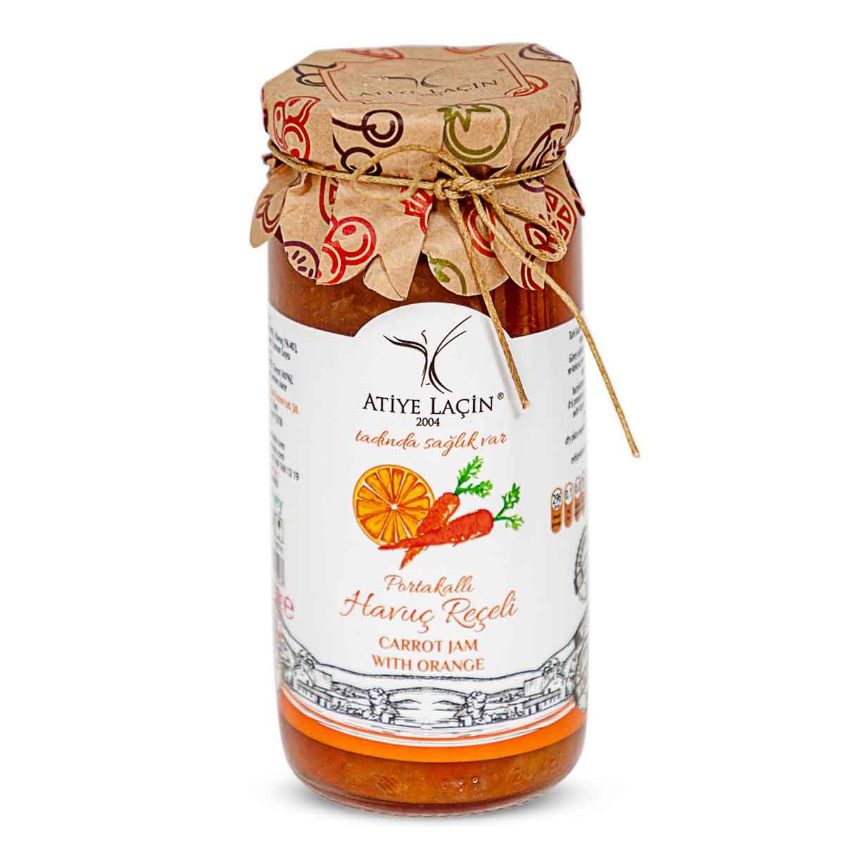 Atiye Lacin - Orangen Karotten Marmelade - portakalli havuç reçeli