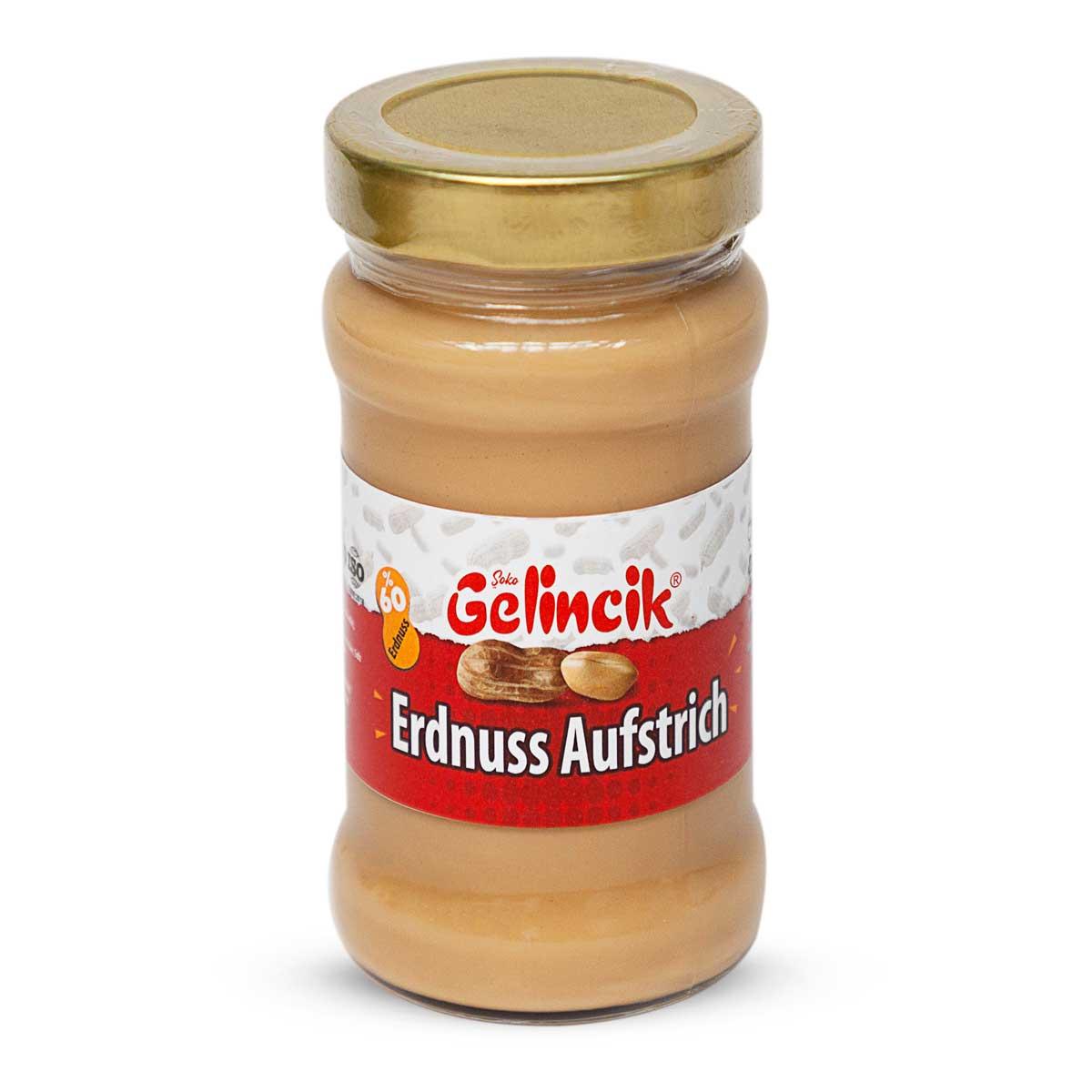 Erdnuss Creme - Erdnussbutter cremig - 60% Erdnussanteil