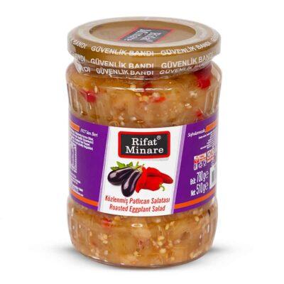 Rifat Minare ~ geröstete Auberginen ~ Közlenmiş Patlıcan Salatsı