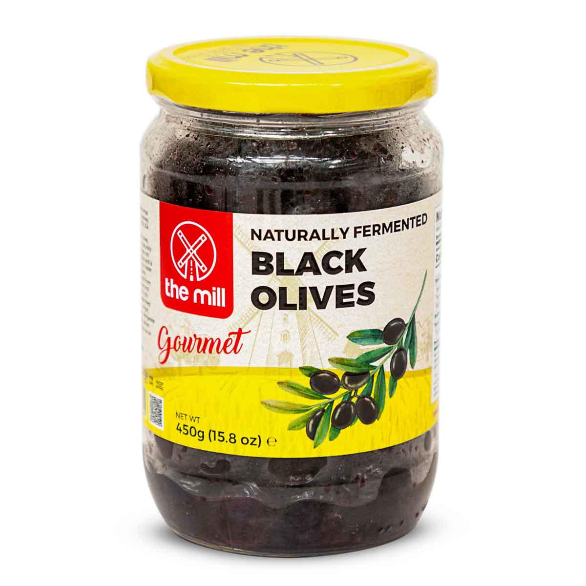 The Mill - fermentierte schwarze Oliven