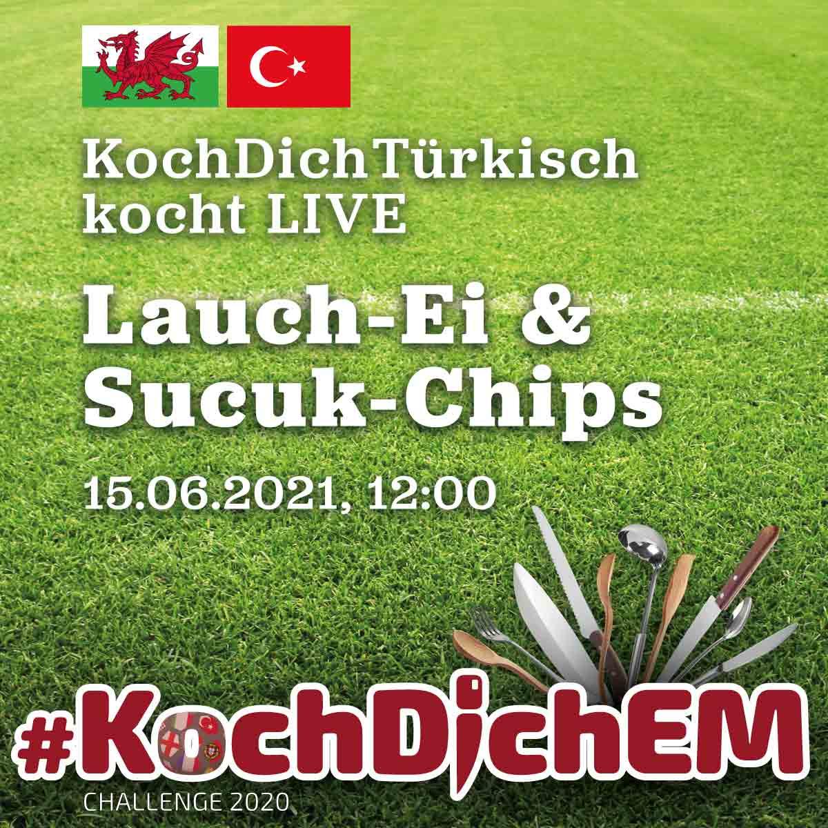 KochDichEM - Eier mit Lauch und Spinat (Grüne Shakshuka) ~ Pırasalı ıspanaklı yumurta