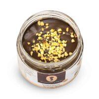 Madame Chêri - Schokolade-Haselnuss Creme mit gehackten Haselnüssen