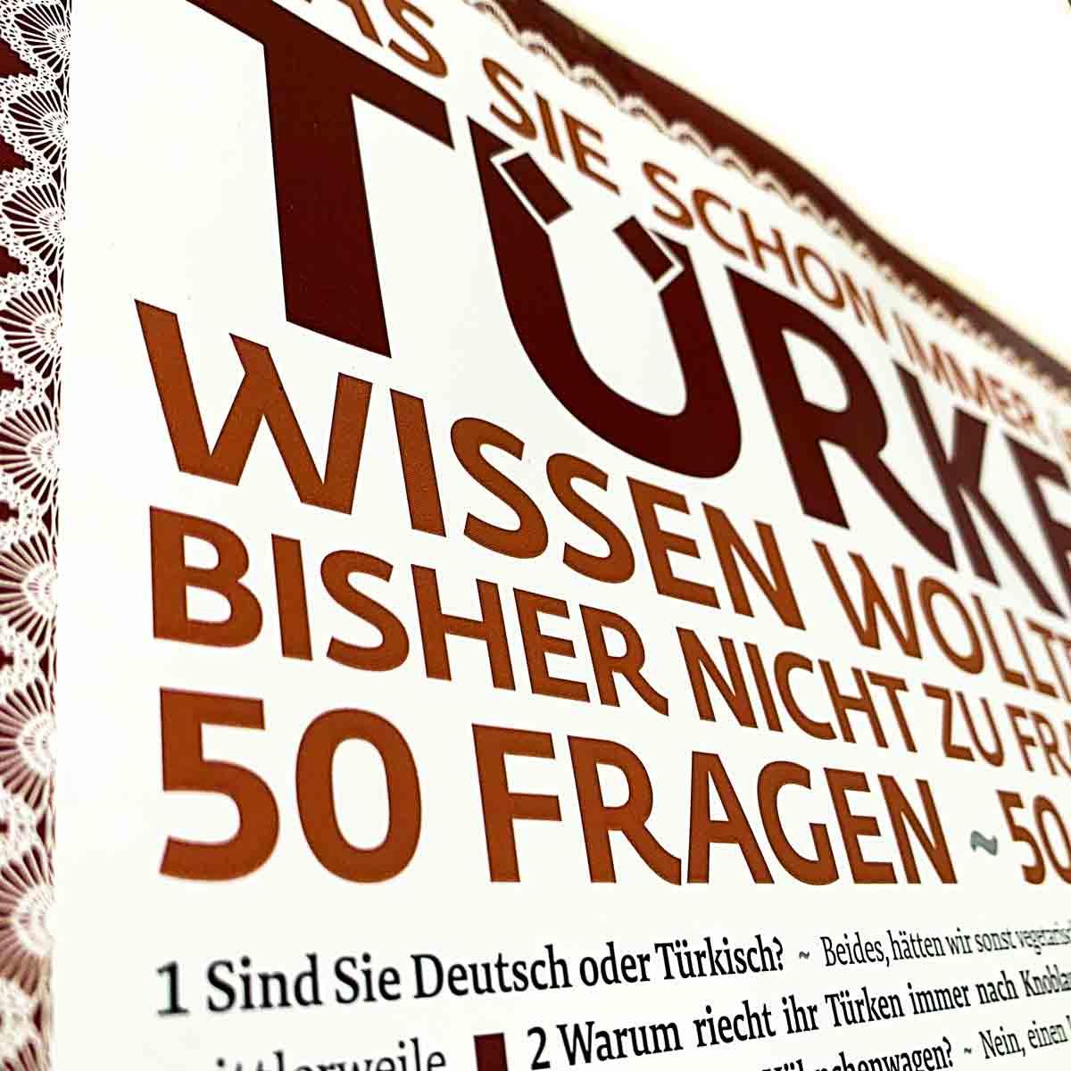 Poster Foto 50 Fragen
