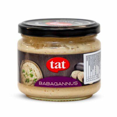 TAT ~ Tahinli patlıcan ezmesi ~ Babagannus ~ 300g