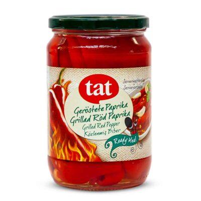 TAT ~ Geröstete Paprika – Közlenmiş biber ~ 720g