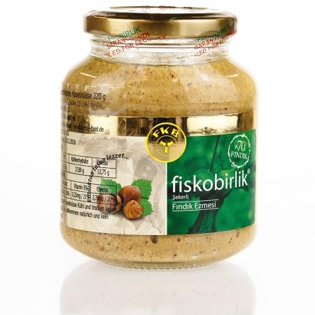 Fiskobirlik - Haselnusspaste - fındık ezmesi