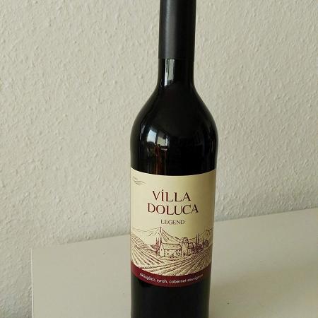 Villa Doluca Legend Rotwein